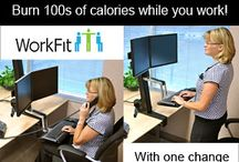SITTING ALL DAY IS DANGEROUS / SITTING ALL DAY AT JOB IS DANGEROUS Dr Levine from the Mayo Clinic  reviews his concepts about NEAT--non exercise thermogensis(the burning of calories simply by standing, figiting, walking a step here or there, climbing a few steps all day) in the Journal of the American Medical Association. Some of his ideas including changing sedentary jobs to standing--this increases calories very signficantly. Read more