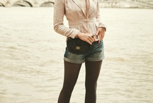 "Fashion&Style: Denim shorts W2012 / by ""Outfit Ideas, by Chicisimo"" Fashion iPhone App"