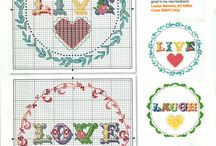Ponto cruz/ cross stitch