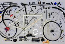 Mecanica de bici / Hace tiempo que hacer fototutoriales de mecánica de bici dejo de tener sentido, así que ahora nos dedicamos a hacer foto curiosas durante nuestras reparaciones