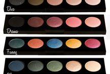 Maquiagem produtos - sombras