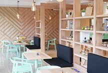 Cafeteria / Mobiliario diseño