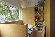 狭いベッドルーム