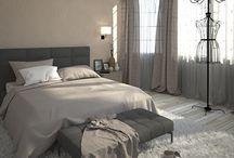 Bedroom design - renderings