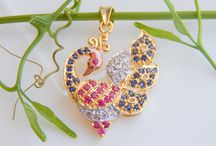 gold minimal pendants