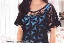 blusas crochet lll / by clara martinez