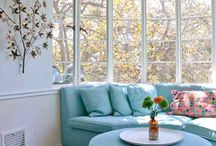 Bay Window & Sofa
