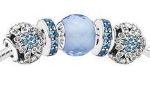 Pandora Snowflake Winter Theme Charms Jewelry