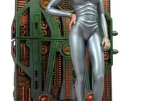 Star Trek Seven of Nine Statue