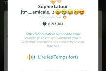 Sophie Latour en direct souvent sur Periscope