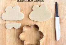 Galletas con diferentes moldes