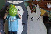BIRTHDAY 2013 / Totoro theme party for the Feb/Mar birthdays.