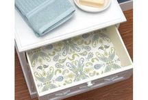RAF ÖRTÜSÜ / Kullanımı:banyo,mutfak,giysi dolapları,ayakkabılıklarda kullanılır.Temiz ve şık görüntüsünün yanı sıra antibakteriyel özelliği vardır.