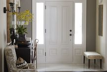Fab Foyers / by Kate, Chic on a Shoestring Decorating