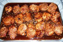 Filets de porc dans sirop d'érable