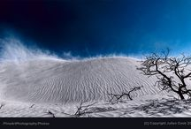 White Sands Desert in The Nambung National Park