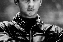 """❤Dave Gahan!❤ / The Leader Of """"Depeche Mode""""! He's My First Favorite Member Of This Band! His Voice Is Just Excellent!"""