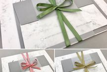 Marble Wedding Invitations & Stationery / Trending this year in wedding stationery is marble. It creates a very elegant and modern feel to your wedding styling. Marble complements many different accent colours. Some of our favorites are copper, gold, silver, rose gold and grey.