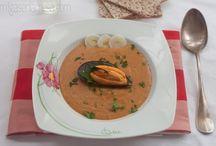 Sopas y cremas (Melm) / Sopas y cremas, calientes o frías Del blog: http://migasenlamesa.com