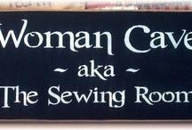 Sewing room redo
