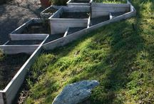 Portager plans / Project terraced garden beds spring/Summer 2015