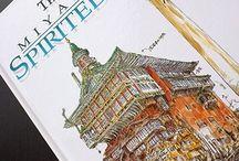 Amazing Art of Hayao Miyazaki : The Art of Spirited Away