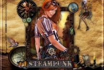 Steampunk / mes créations Steampunk