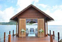 Destination Weddings & Honeymoons / Inspiration for destination weddings and honeymoon trips.