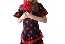 Spaanse jurken Deluxe NIEUW