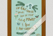 Scripture Art / by JoDitt Designs | JoDitt Williams