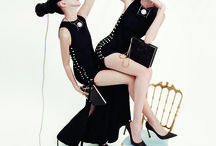 """Lanvin Spring 2015 / Lanvin goes for families again. """"Every time we do a family shoot, it feels like we're going to their place: We feel like visitors,"""" Creative Director Alber Elbaz told WWD. Tim Walker shot top models alongside their (unsurprisingly gorgeous) daughters -- Violetta Sanchez with daughter Luz, Pat Cleveland with daughter Anna, and Kirsten Owen with daughter Billie Rose among them."""