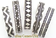 Native American Bracelets / by Four Corners USA OnLine