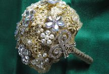 Brooch Bouquets for Brides / Stunning, gorgeous, sparkling brooch bouquets for Brides.