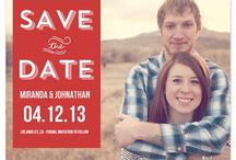 Wedding / Everything from save the date to engagement to bridal shower & party to..your wedding day.