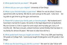 Meet the CP teachers / Meet the amazing teachers at College Park!