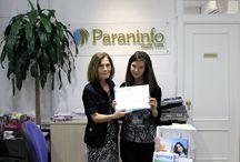 Entrega del  Diploma  a Victoria Masalykina / Hoy la alumna rusa Victoria Masalykina termina su curso y la directora de la academia ha procedido a la entrega el Diploma. ¡Esperemos vernos pronto de nuevo!