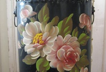 Folk Art, Paintings,Decorative Painting etc / Any hand painted surface.