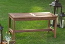 Outdoor Benches / Outdoor Benches- wood, metal, modern, antique, some with storage. All great prices.