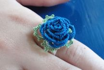 Crochet : Accessories / I just love it / by Manal