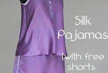 Sew pyjamas
