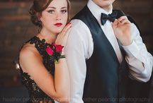 prom session posing ideas
