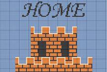 Mario Bros Pattern
