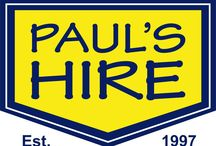 Paul's Hire / Tool Hire
