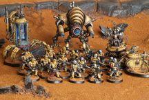 Yellow armour & battledamage
