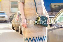Knitting patterns - dress
