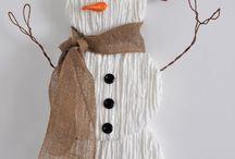 Snowman / Xmas