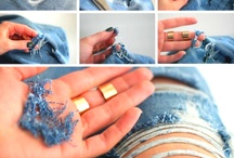 How to: FASHION 101 / From Ripped Jeans to DIY Studded Bag, you choose Zalorites ;)