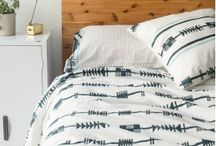 Organic Wood Block Printed Bedding