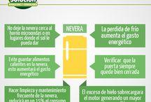Ahorro de Energía / Infografías de Doctor Solución para ahorrar energía