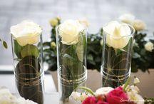 Bordsdekorationer / Blommor och dekorationer till vardags och fest.
